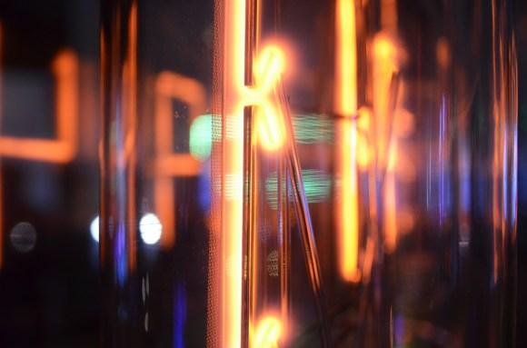 Got to love that cathode glow.