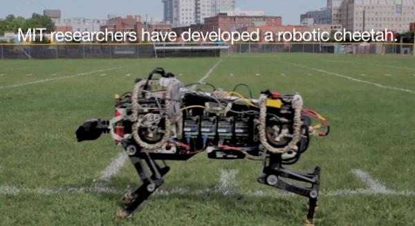 Robotic Cheetah get's upgraded bounding algorithm