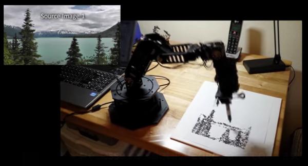 Robot Arm Artist