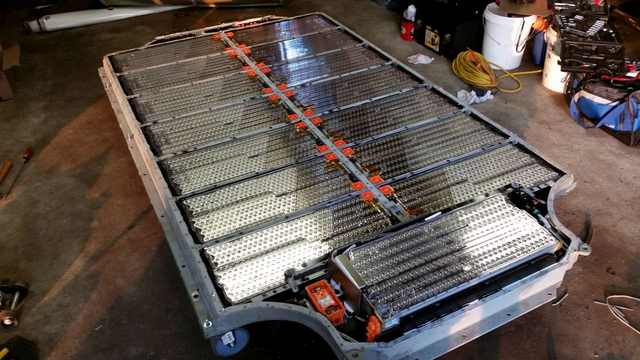 tesla model s battery teardown hackaday Tesla Magnifier Diagram
