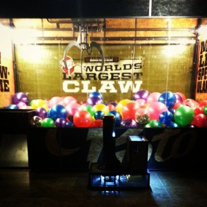 The World's Largest Claw Game?