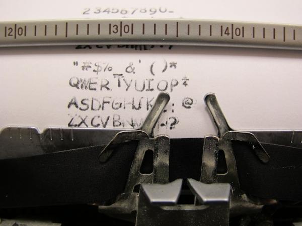 Type Writer Uses Comic Sans!