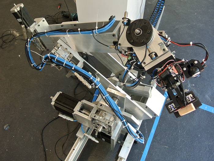 This Home Made 6 Axis Robotic Arm Is Quite The Looker Hackaday