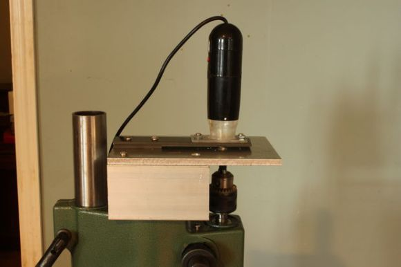 Inverted PCB Drill Press