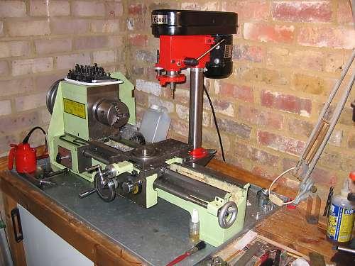 Convert a Drill Press to a Mill