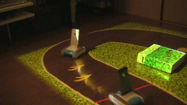 RomoCart, Indoor Robot Racing
