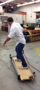CNC Router Skateboard