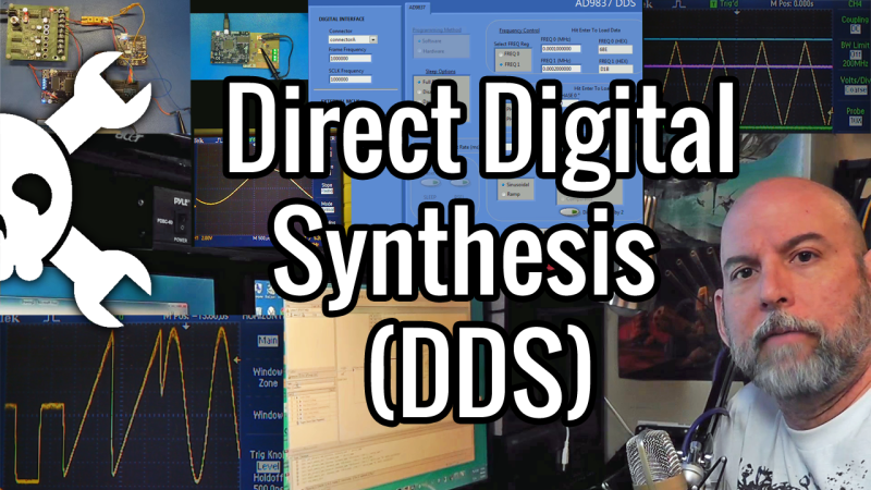 Direct Digital Synthesis (DDS) Explained By [Bil Herd