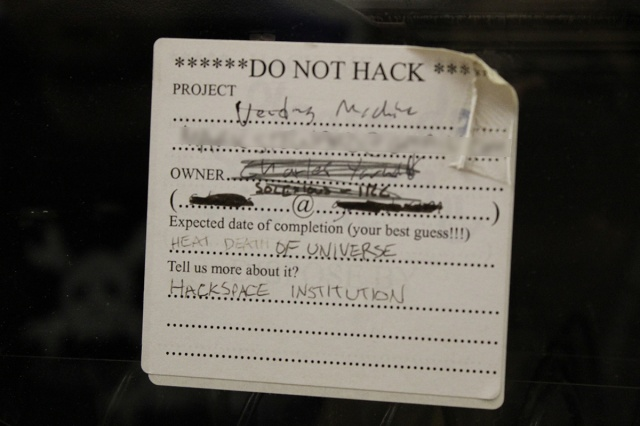 Do Not Hack