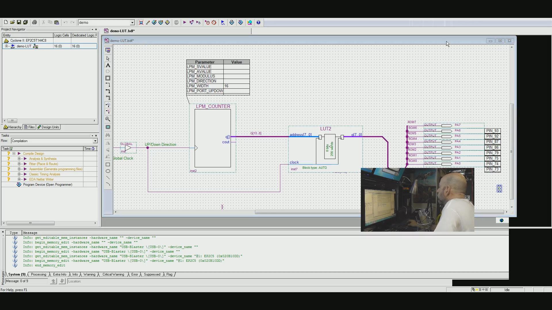FPGA w LUT