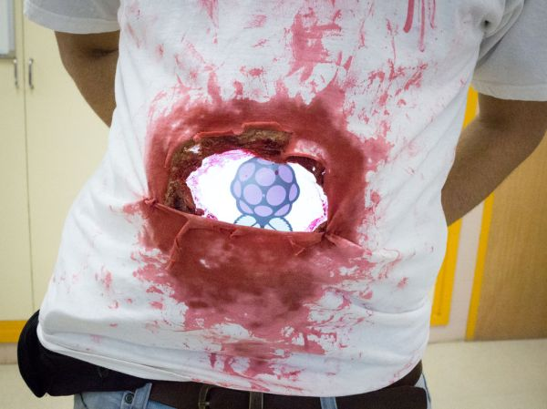 """""""Stomach Shot"""" lets you see through your zombie corpse."""
