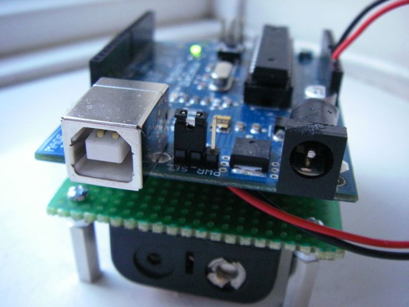 Undershield, DIY Arduino Battery Shield
