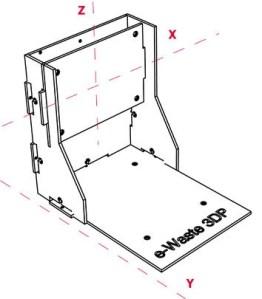 e-waste small 3d printer