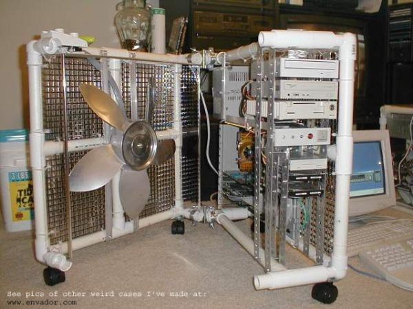 Box Fan Computer Case