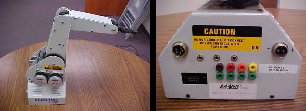 LabVolt Robot Arm Reverse Engineering