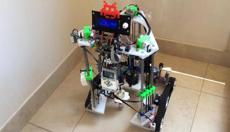 Delta 3 Space 3D Printer