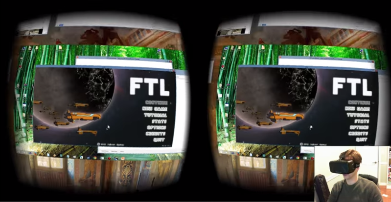 3D Windows Manager for Oculus