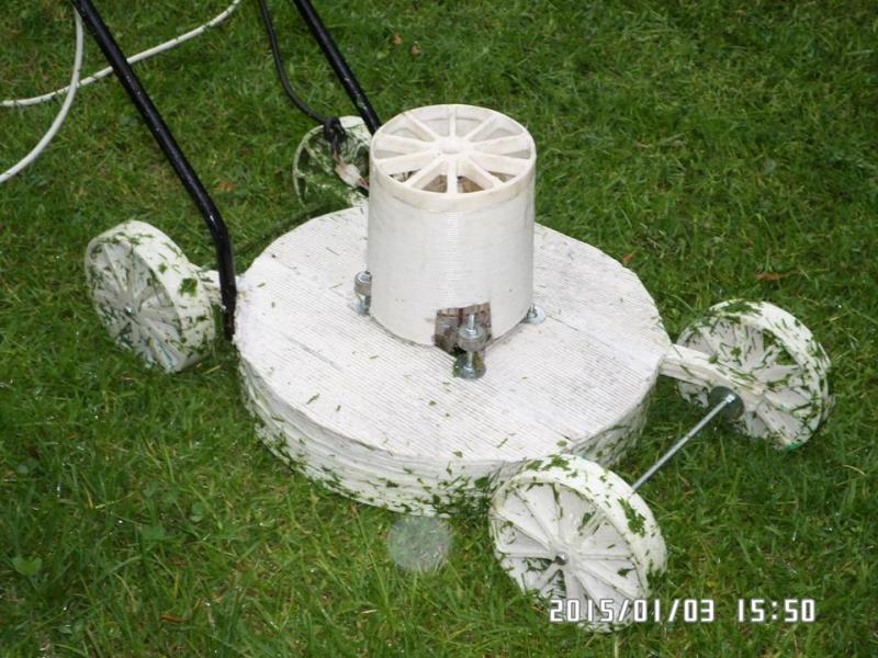 3D Printed Lawnmower