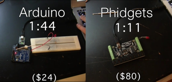 Arduino Vs  Phidgets – Dev Time Trials | Hackaday