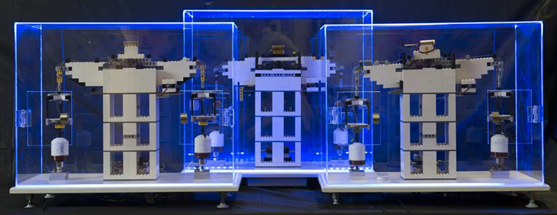 Measuring The Planck Constant With Lego