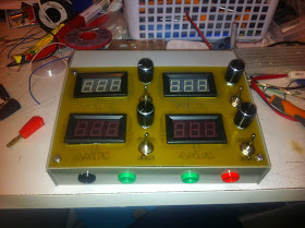 A low cost power supply unit with displays