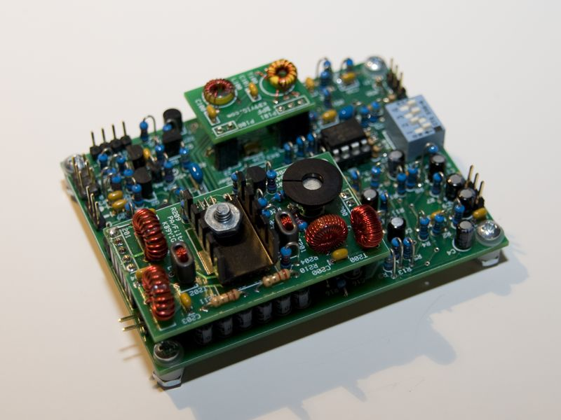 The Soft Rock SDR transceiver kit.