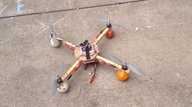 1 hour quadcopter build