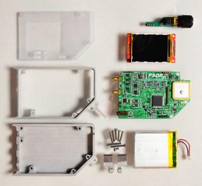 Parts that make up PortableSDR