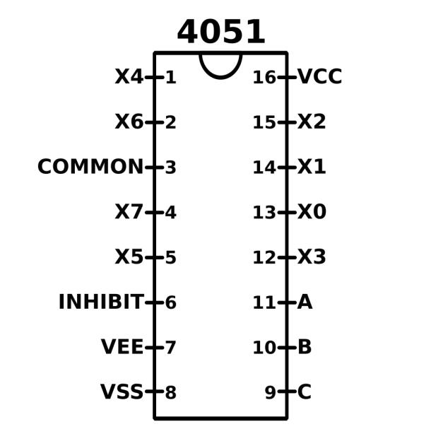 4051_pinout