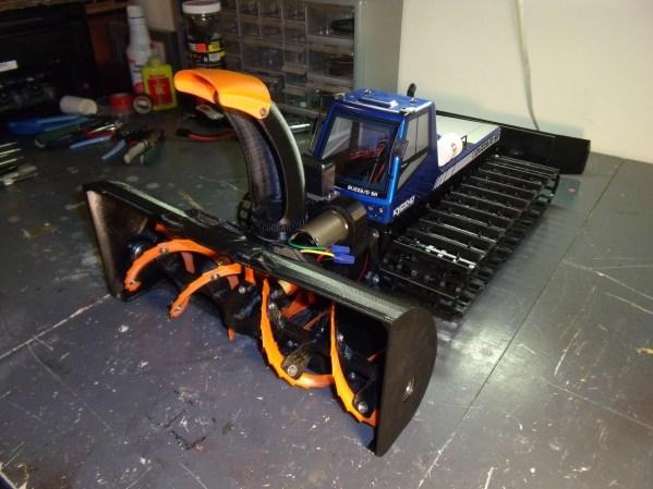 3D Printed Snowblower