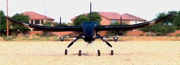 drone on ground