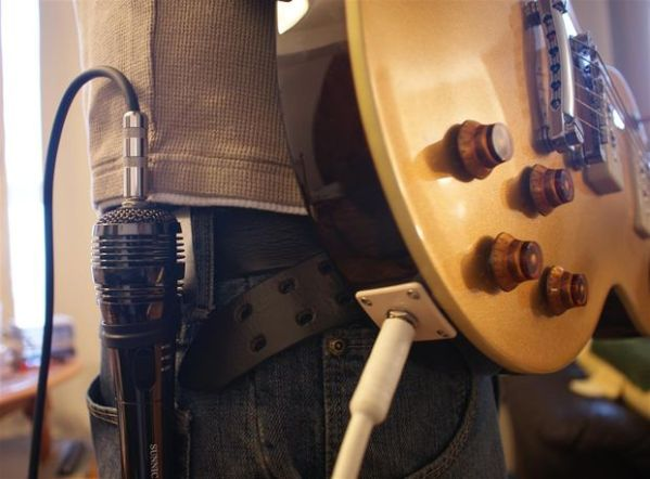 Wireless Guitar Mic