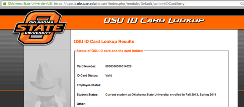 Hacking Oklahoma State University's Student ID Cards | Hackaday