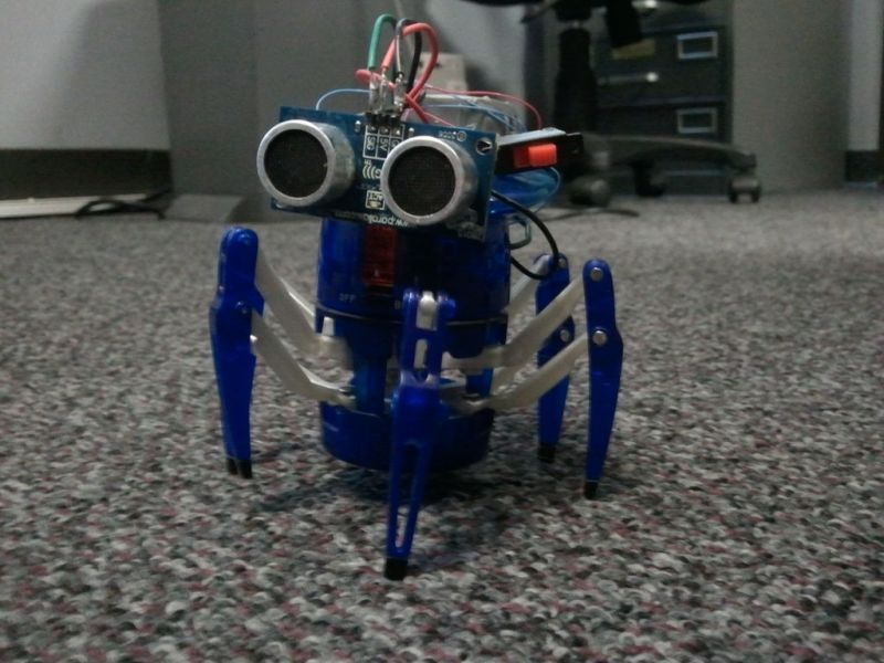 Mini Autonomous Robot