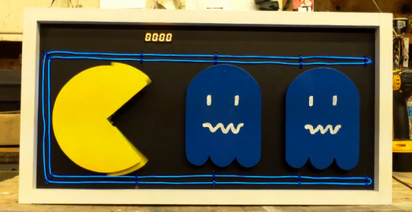 Pac Man Clock