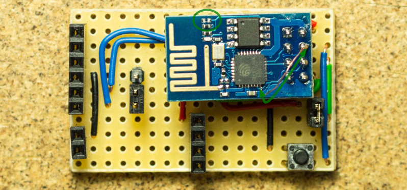 Hack Allows ESP-01 To Go To Deep Sleep | Hackaday