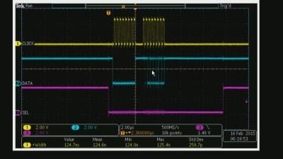 SPI Protocol Writing to Digital Potentiometer