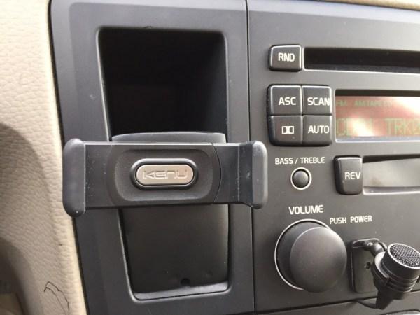 Volvo Phone Holder