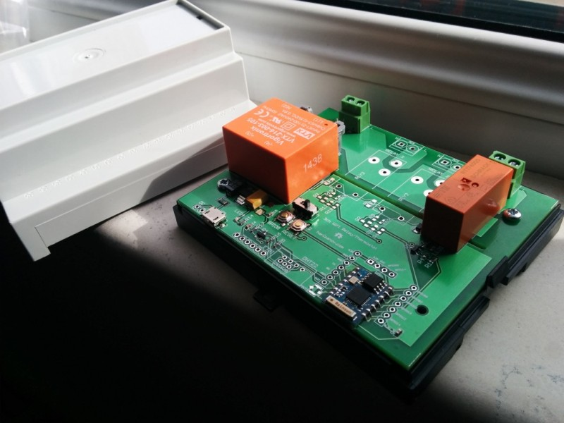 Control board for a Wi-Fi enabled thermostat