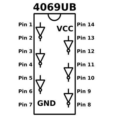 4069ub_pinout