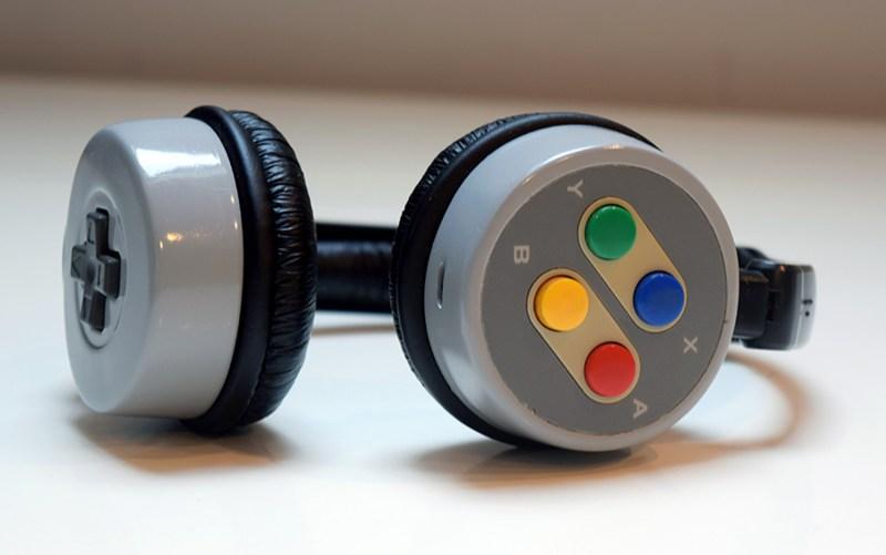 bluetooth snes headphones