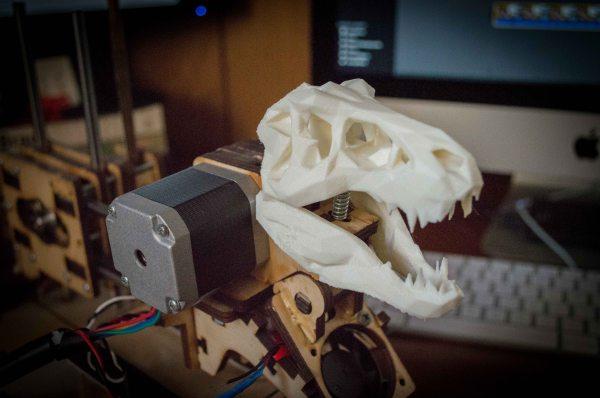 3D Printer Plays Music