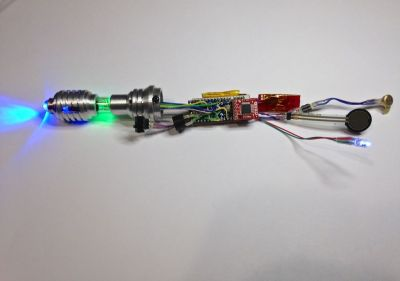 Sonic Screwdriver Guts