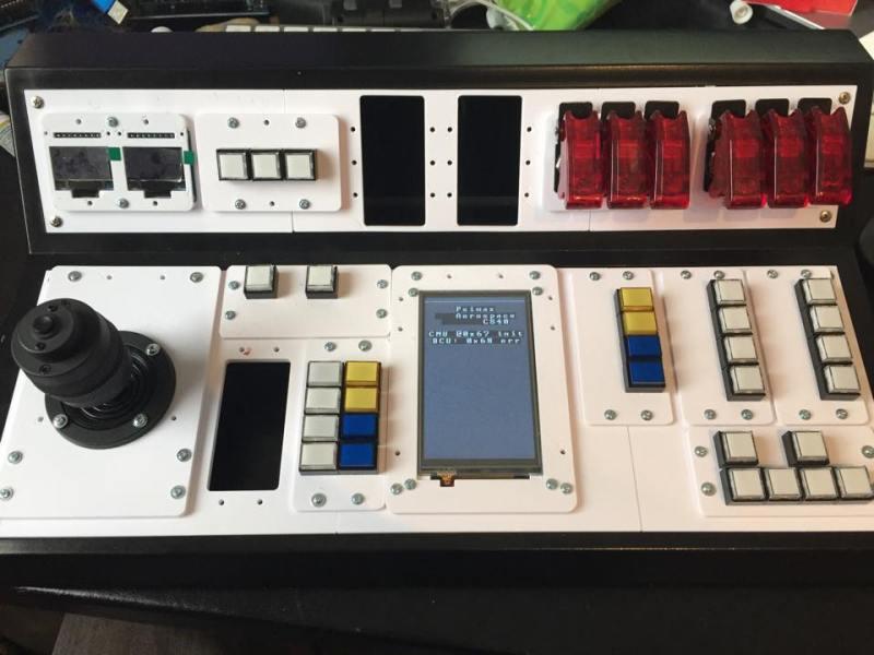 Psimax CS40 Control Panel for Kerbal Space Program