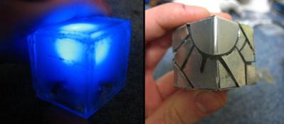 LED Cube from the future