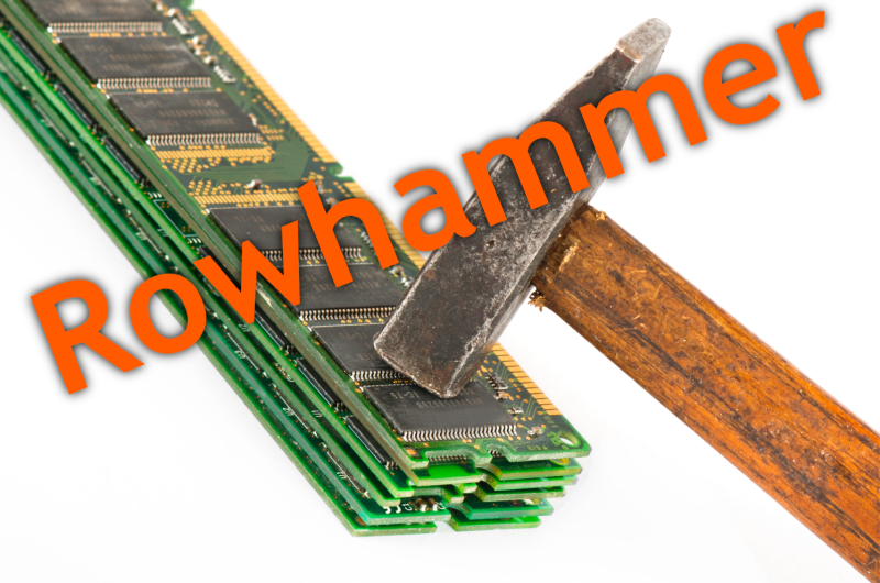 Creative DRAM Abuse With Rowhammer | Hackaday