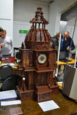 tall chococlock