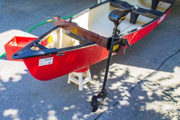 electric canoe