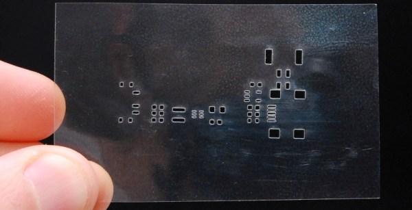 Laser Etched Stencils