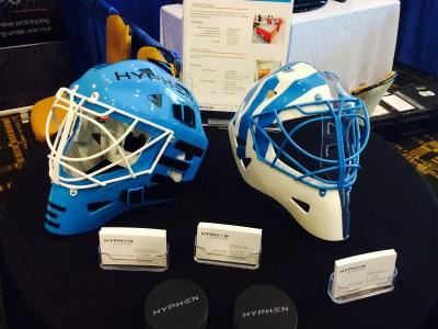 3D Printed Hockey Helmets
